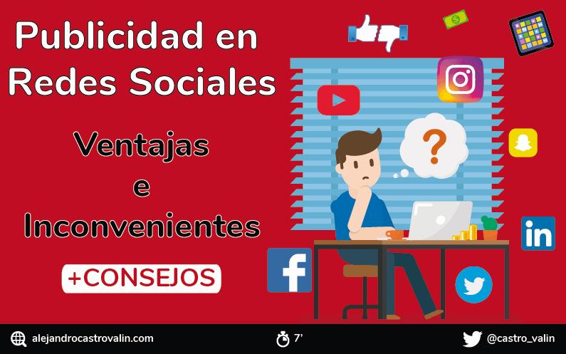 Publicidad en redes sociales: Qué es, tipos, ventajas y desventajas