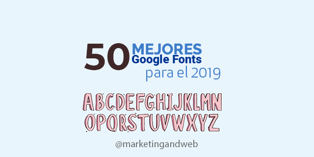 mejores-google-fonts imagen de marketing and web