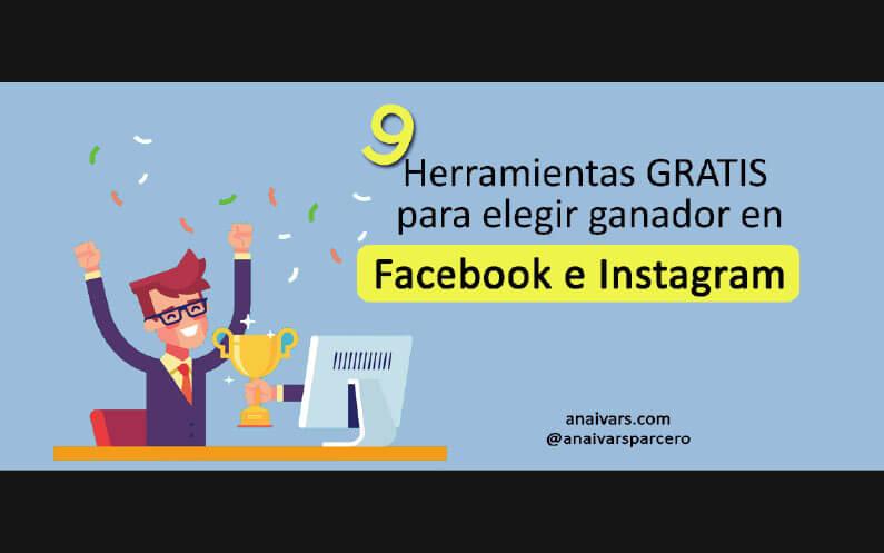 sorteos facebook e instagram