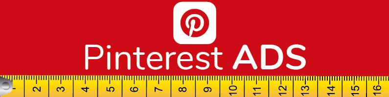 Tamaño de imágenes en pinterest ads