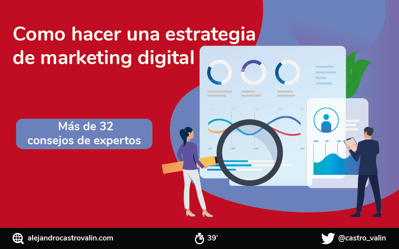 Como hacer una estrategia de marketing digital | 34 consejos de expertos [INFOGRAFIA]