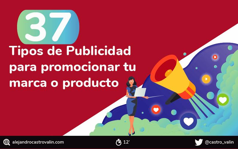 37 Tipos de Publicidad más efectivos que existen y utilizan las empresas [Ejemplos]
