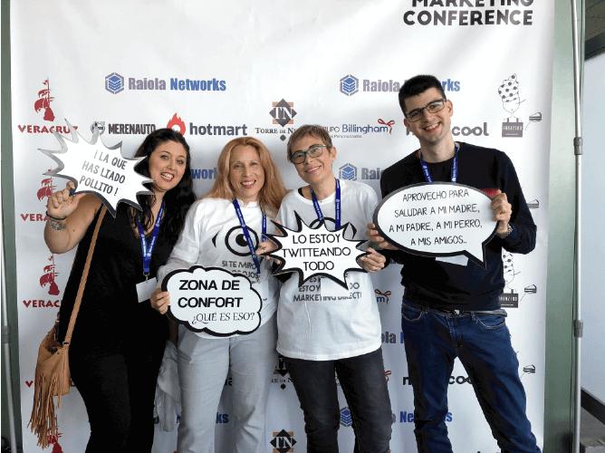 asistentes congreso raiola networks