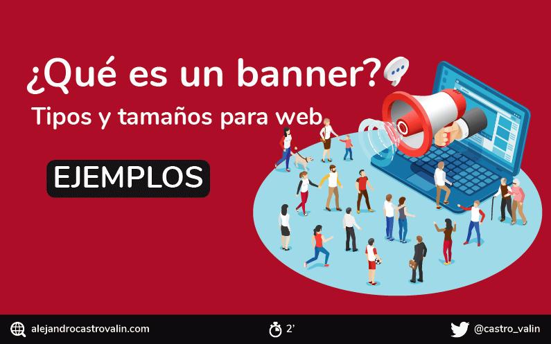 ¿Qué es un banner publicitario? Tipos de banners, formatos y ejemplos + INFOGRAFIA