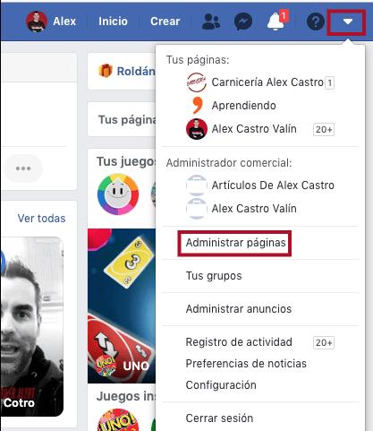metodo para configurar tu facebook