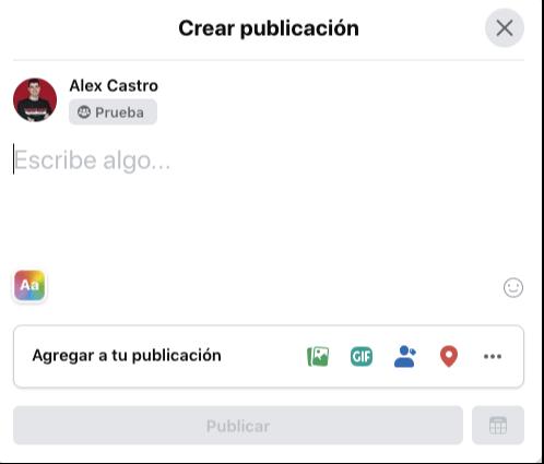 compartir archivos en grupo de facebook