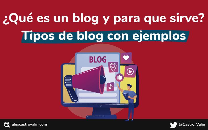 que es un blog para que sirve y ejemplos de blog en español