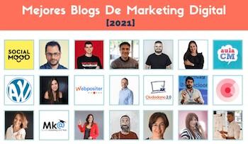 Elegido en el listado de mejores Blogs de Marketing Digital 2021 por Ana Rego Mato