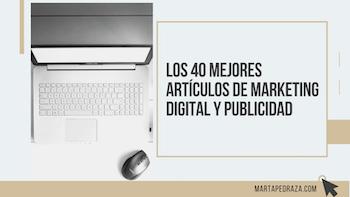 """Mi artículo """"Qué es el Píxel de Facebook"""" nombrado en el listado de 10 mejores artículos de publicidad en redes sociales por Marta Pedraza."""