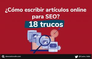 Redacción SEO Como redactar contenido SEO para tu blog